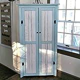 Corner Cabinet With Reclaimed Wood Doors U0026 Shelves, Handmade Distressed  Corner Shelf Or Bookcase