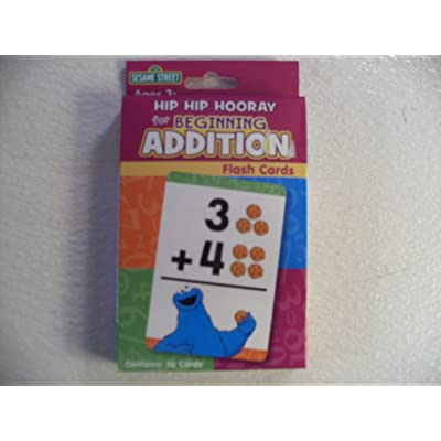 Sesame Street Hip Hip Hooray for Addition Flash Cards: Toys & Games