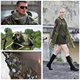LOOGU Tactical Mesh Net Camo Scarf for