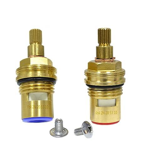 GI Universal Replacement Brass ceramic disc tap valve insert gland ...