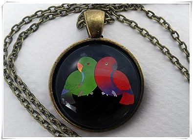 Necklace dandelion bird