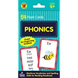 Carson Dellosa Phonics Flash Cards—PreK-Grade 1, Sound Recognition Skills With Vowels, Consonants, and Common Blends, Double-