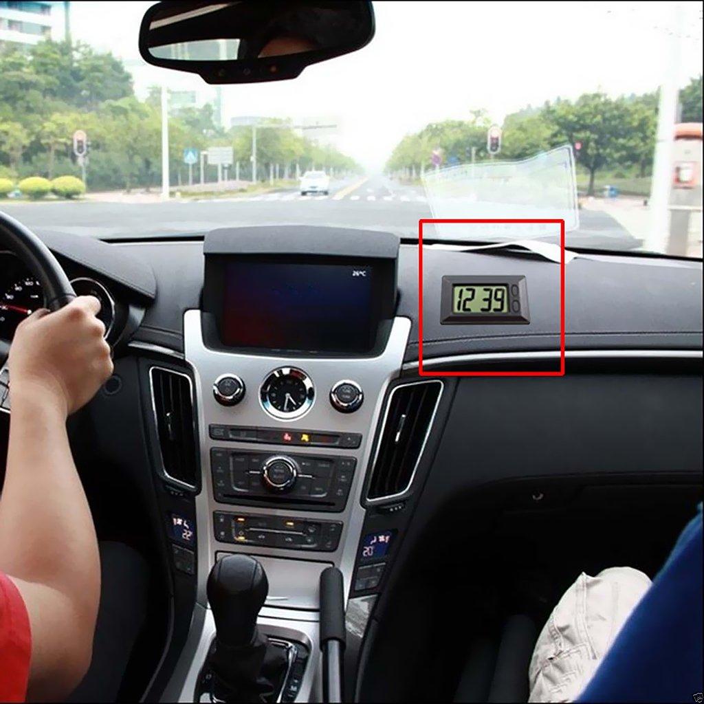 Shiwaki Calibro Di Orologio LCD Digitale Da Cruscotto Universale Car Truck Di Alta Qualit/à