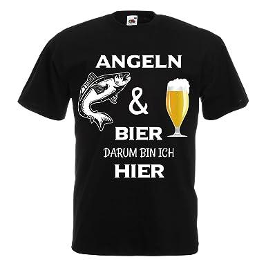 Cooles Angel Fun T-Shirt Die besten Angler bedruckt Angeln  Fischen Fishing Hemden & T-Shirts Angelsport