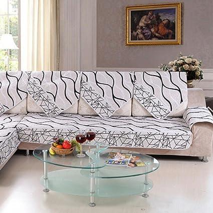 DZT1968 Sofa Cover Black And White Striped Sofa Sectional Sofa For Cover  Case Sofa Armre (