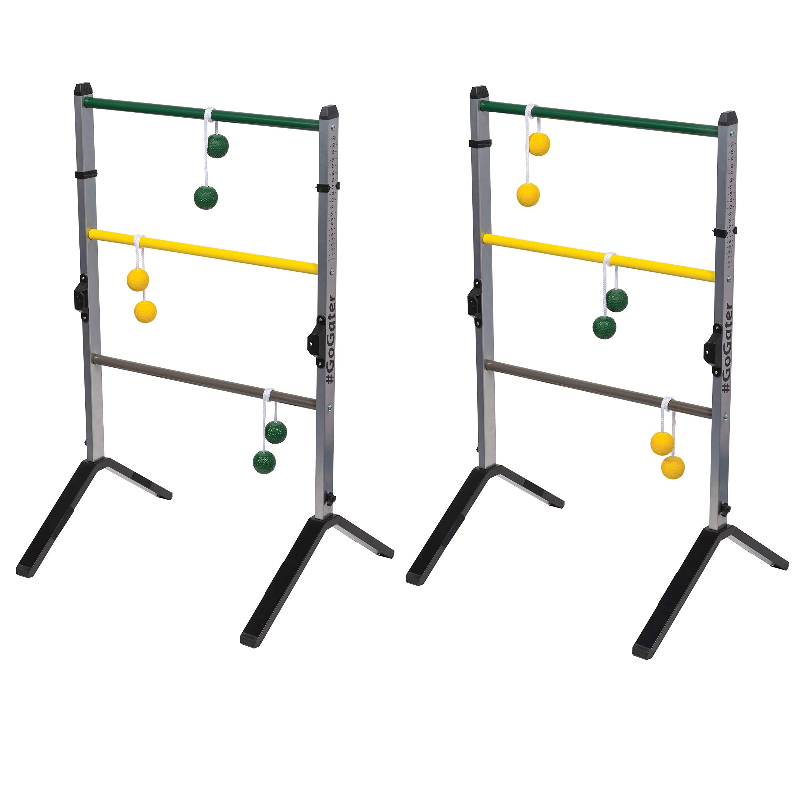 EastPoint Sports Go! Gater Premium Steel Ladderball Set - Features Sturdy Steel Material, Built-in Scoring System, and Complete with All Accessories by EastPoint Sports