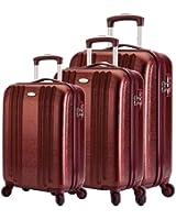 Set de 3 valises 4 roues carbon robust elegance