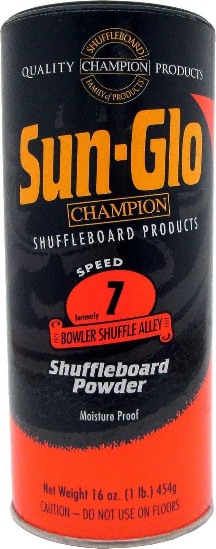 Sunglo Speed 7 (Bowler Shuffle Alley Alley Shuffle Wachs) Shuffleboard Tisch Powder, 16 oz können e8b42c