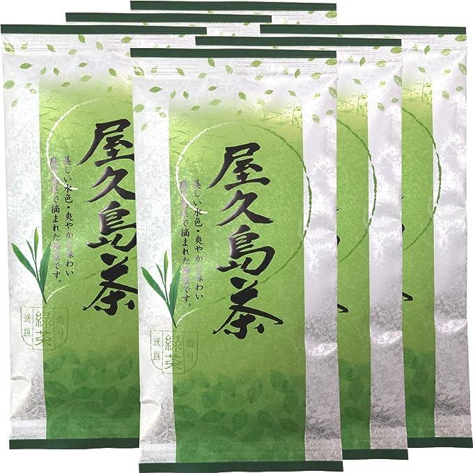 日本茶 お茶 煎茶 茶葉 屋久島茶 100g×6袋セット