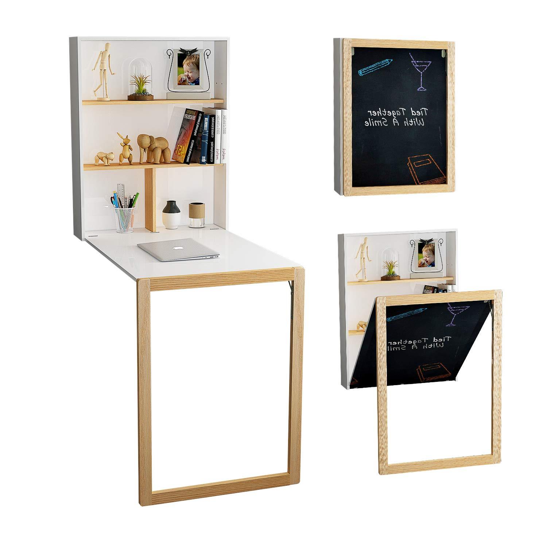 Convertible small apartment desk-