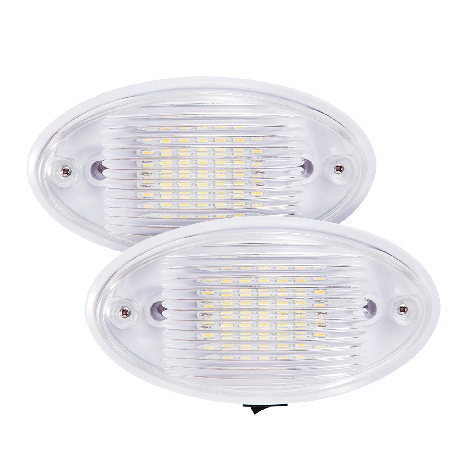 Amazon kohree led ceiling porch light fixture 12v rv interior amazon kohree led ceiling porch light fixture 12v rv interior and exterior lighting for trailercamperboat with onoff switch and removable lens arubaitofo Choice Image