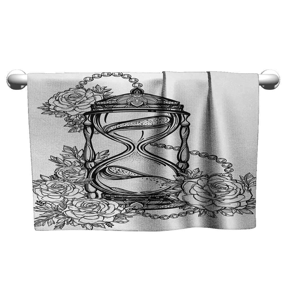 Amazon com alisoso tattoo,best bath towels pencil drawing