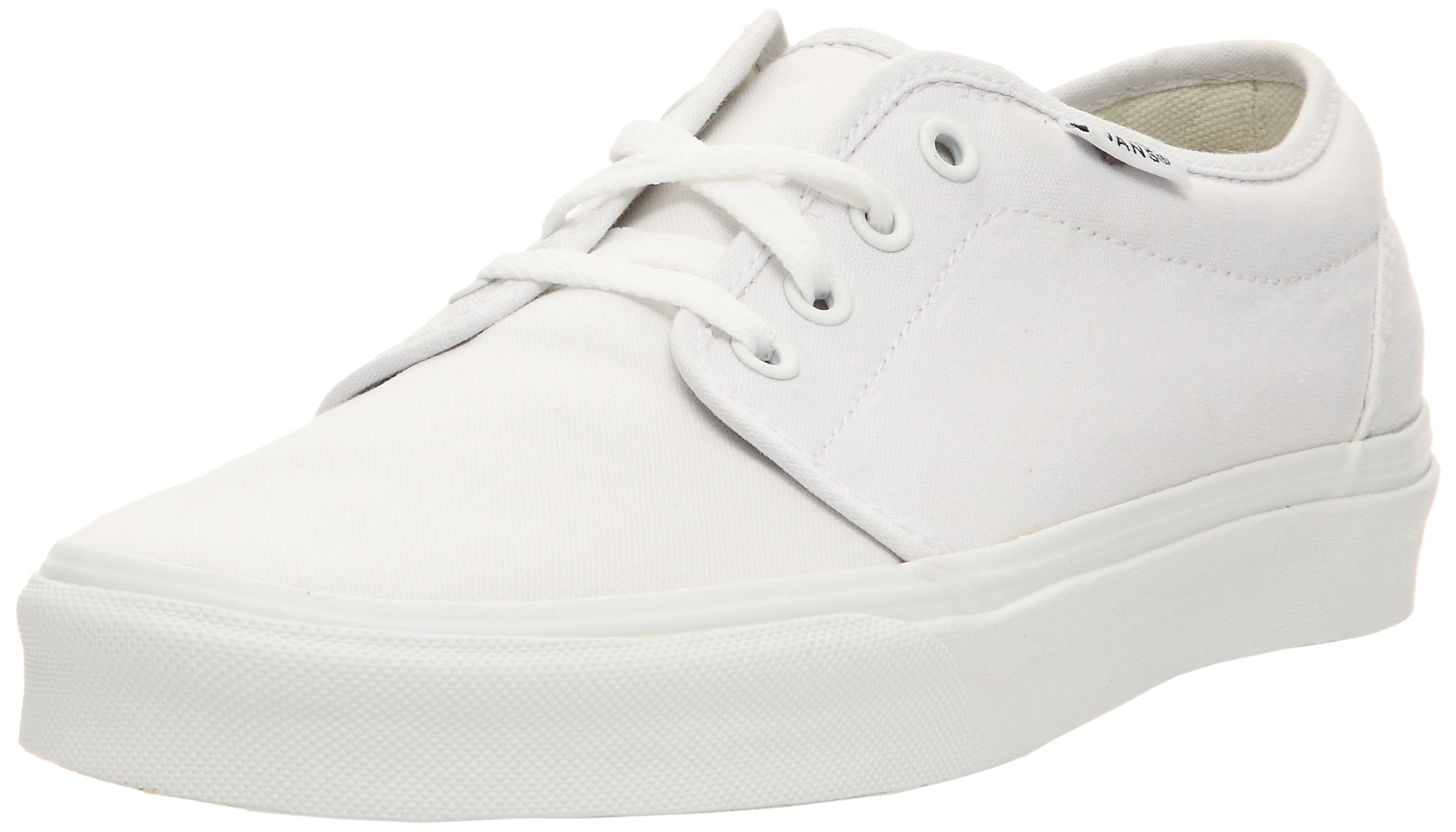 bd652f4ab3 Galleon - Vans Unisex s 106 VULCANIZED SKATE SHOES 12 (TRUE WHITE)