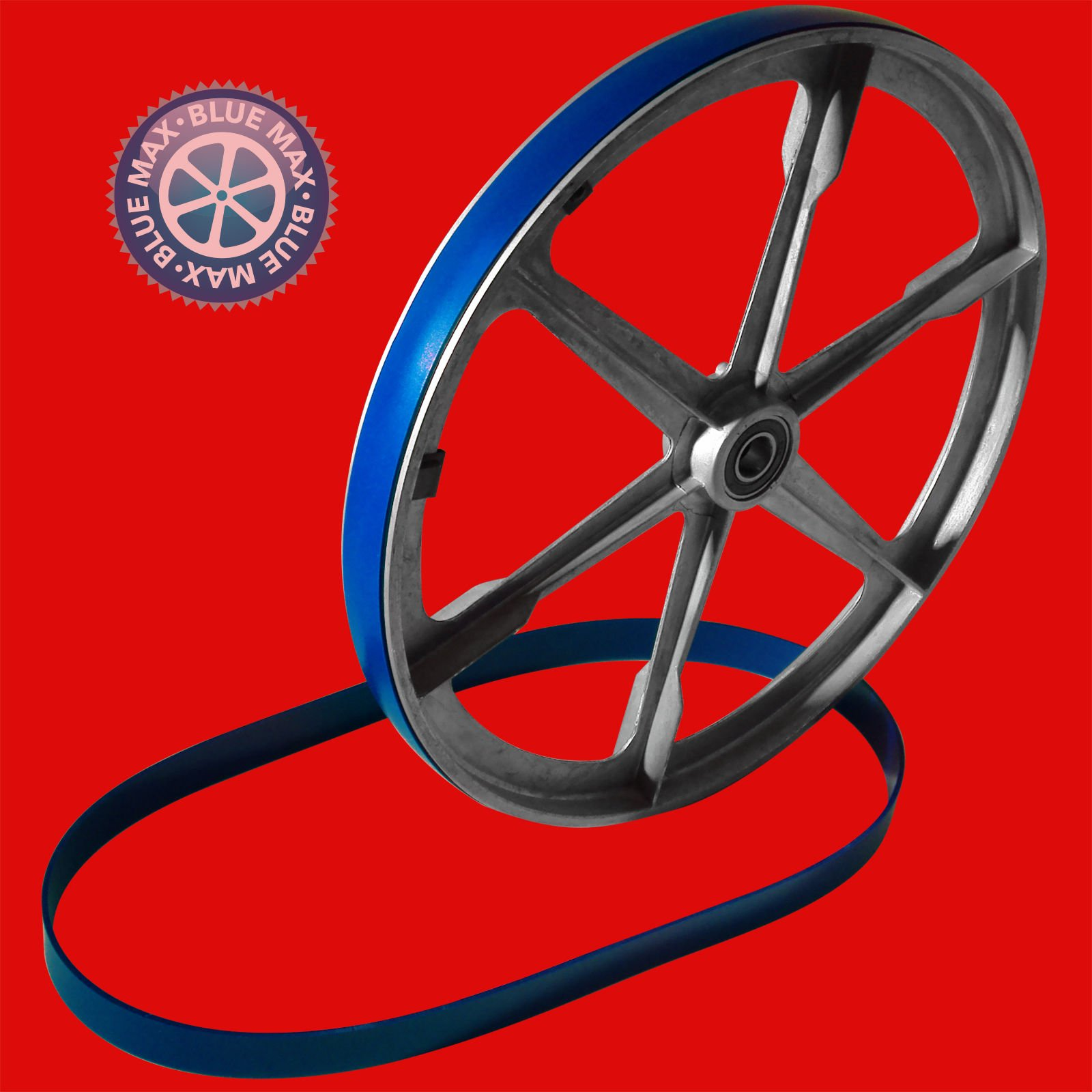2 BLUE MAX ULTRA DUTY URETHANE BAND SAW TIRES REPLACES DAKE 300459 TIRES by Generic