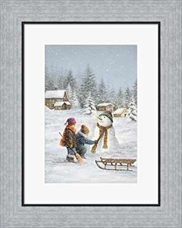 Amazon.com: One More Tug On The Scarf by DBK-Art Licensing Framed ...