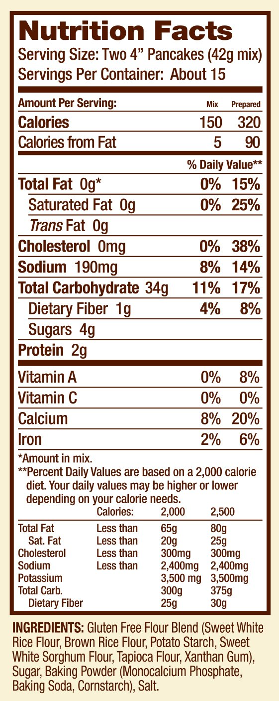 Bob's Red Mill Gluten Free Pancake Mix, 22-ounce (Pack of 4) by Bob's Red Mill (Image #6)