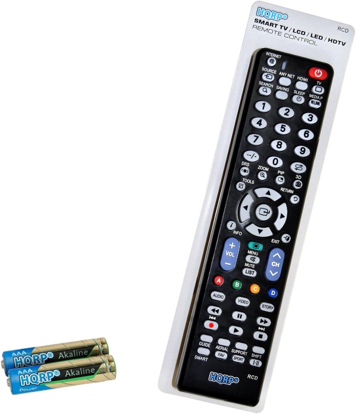 HQRP Mando a Distancia para televisores LED de Samsung UHD Curvo ...