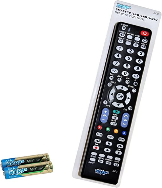 HQRP Mando a Distancia para televisores LED de Samsung UHD Curvo Smart TV JU6500 UE40JU6500K, UE48JU6500K, UE55JU6500K, UE65JU6500K: Amazon.es: Electrónica