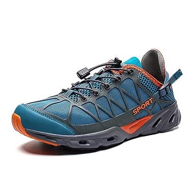KEEZMZ Mens Womens Quick Drying Aqua Water Shoes for Sports Walking Outdoor Running Hiking Beach Swim Surf Diving Boating Fishing | Water Shoes