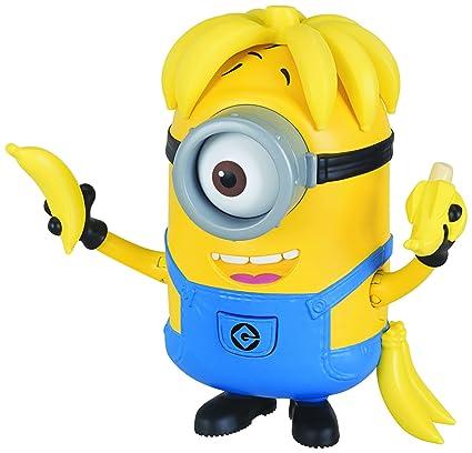 Amazon.com  Despicable Me Deluxe Action Figure Banana Crazy Carl Toy ... 222cc713556b1