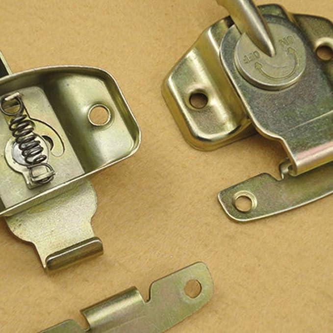 6Pcs Echaprey Iron Color-zinc Plating Dining Table Lock Buckle Training Table Locks Connectors Hardware Accessories