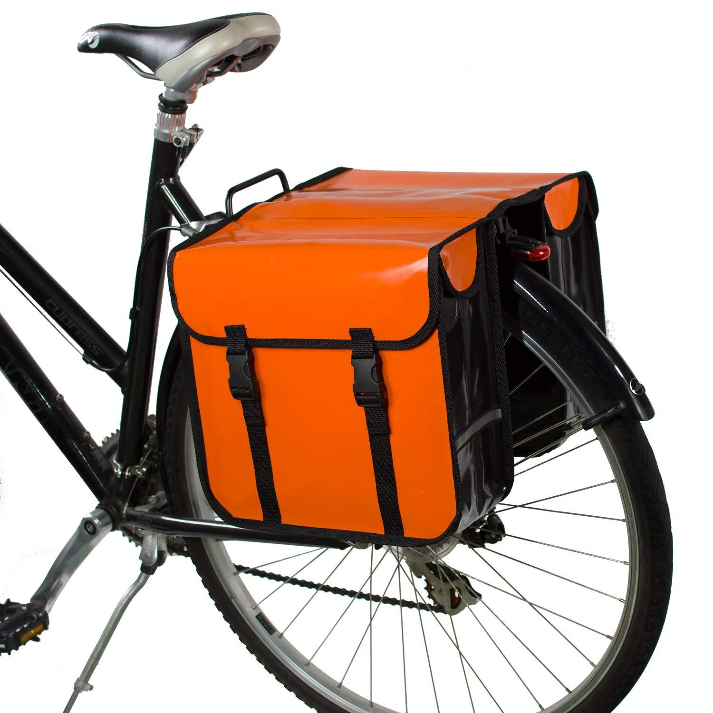 BikyBag Impermeable Alforjas de Bicicleta a Prueba de Agua ...