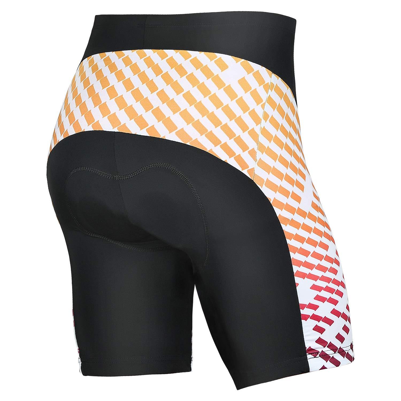 4ucycling Mens Bike Cycling Underwear Shorts 3D Padded Bike Shorts Men