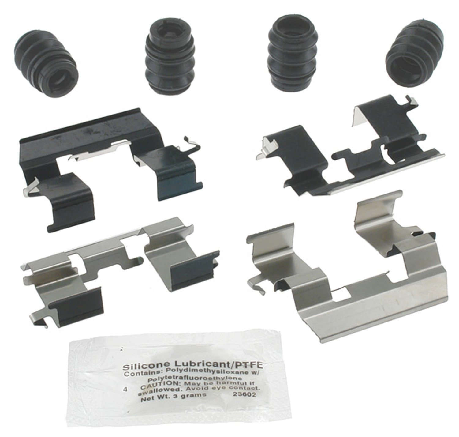 ACDelco 18K1740X Professional Front Disc Brake Caliper Hardware Kit with Clips and Lubricant Seals