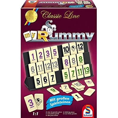 Classic Line: Rummy (gr. Spielfiguren)neu: Toys & Games
