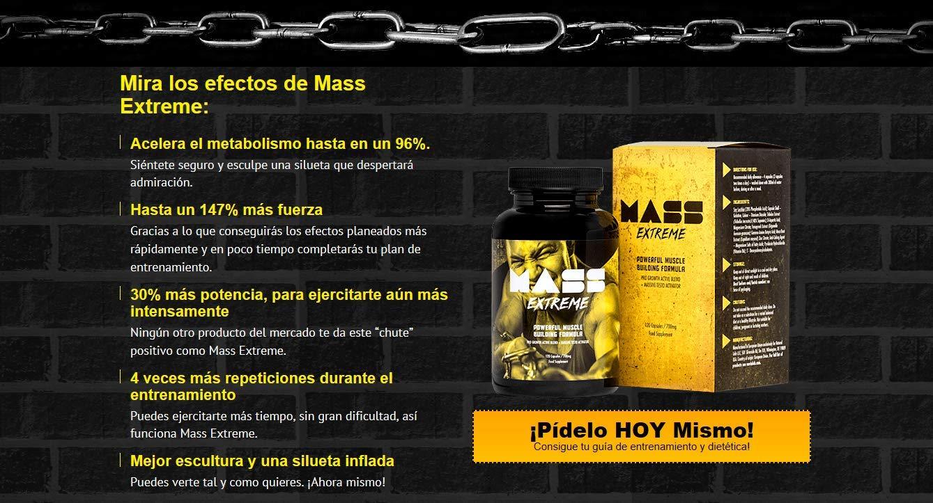 ✅MASS EXTREME Premium - El suplemento para desarrollar la masa muscular, un desarrollo espectacular de la forma del cuerpo, ¡ideal para todos los hombres!