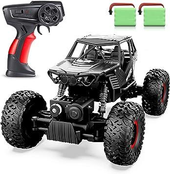 Oferta amazon: ANTAPRCIS 4WD RC Coche, 1:14 Off-Road Coche Teledirigido, 2.4GHz Crawler Camiones de Control Remoto Juguete con 2 Baterías Recargables, Regalo para Niños