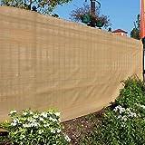 Garden Fence Screen/Shade Net Beige 2mtrs x 1mtr