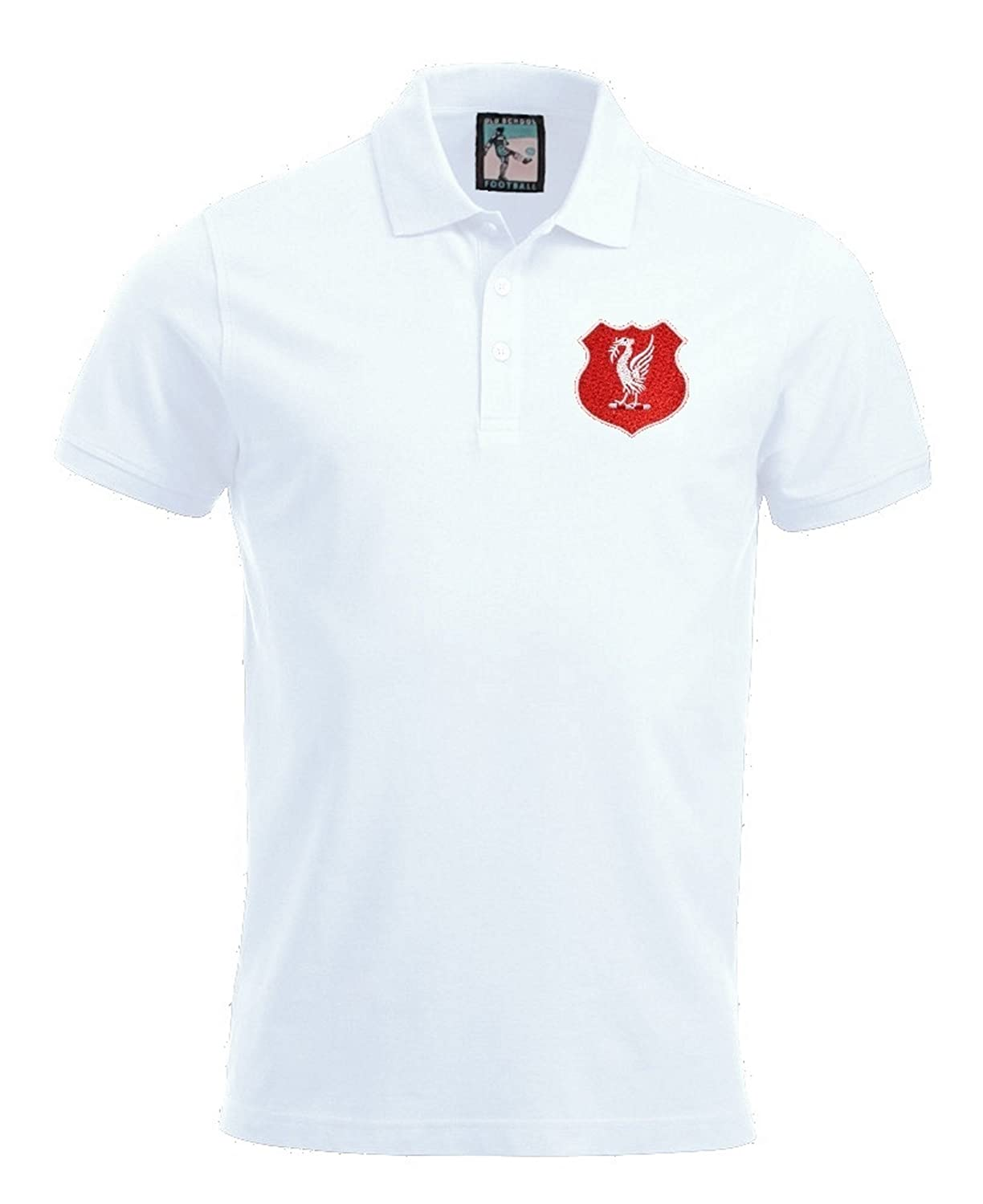 Old School Football Liverpool Fútbol Polo Tallas S - XXXL Logotipo ...