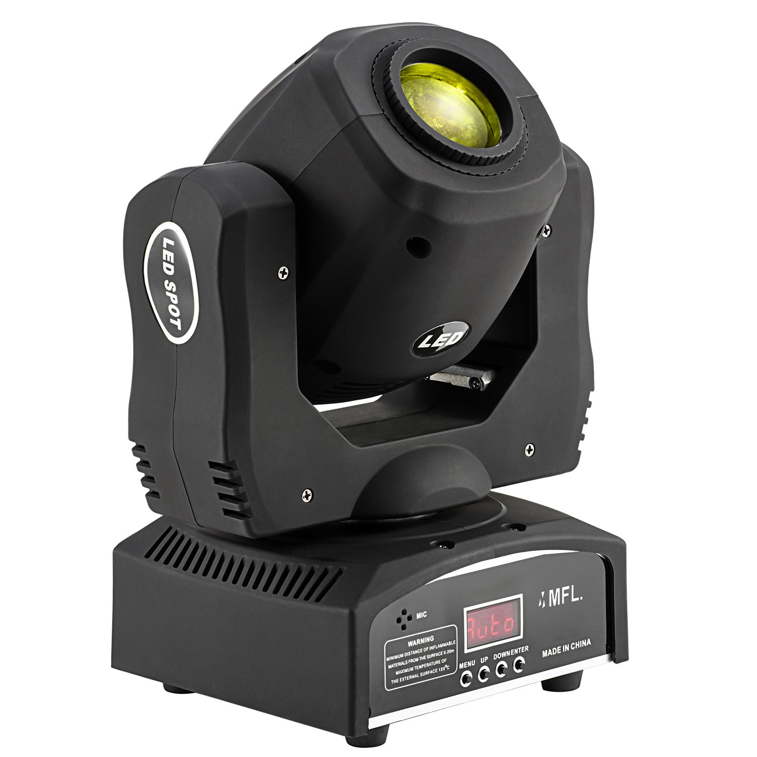 MFL G60 Moving Head Light Led Spot 60W with 7 Gobo Stage Lighting for DJ Church Wedding Party Live Concert