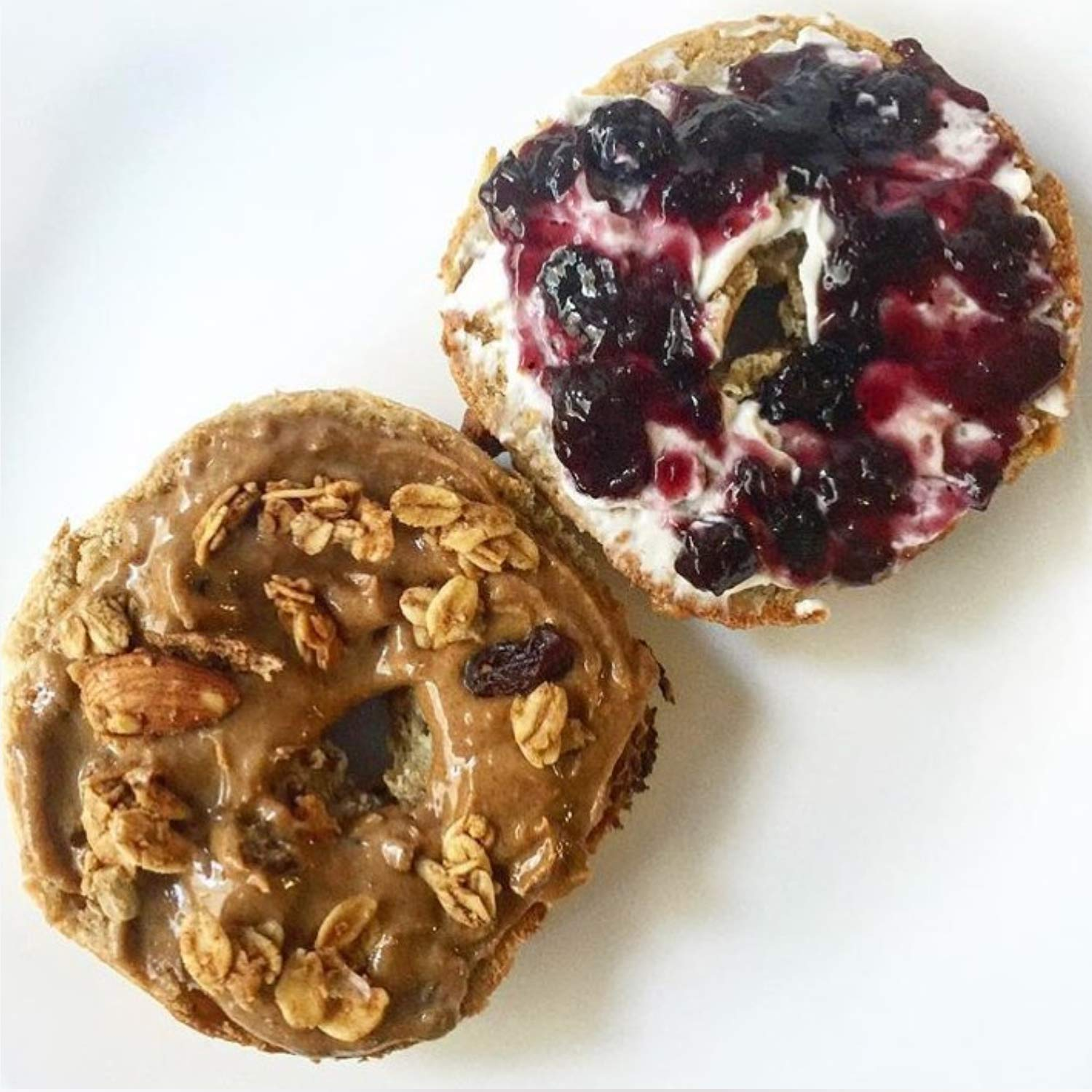 Greater Knead Gluten Free Bagel - Cinnamon Raisin - Vegan, non-GMO, Free of Wheat, Nuts, Soy, Peanuts, Tree Nuts (12 bagels) by The Greater Knead (Image #8)