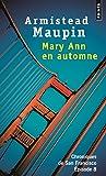 Chroniques de San Francisco - tome 8 Mary Ann en automne