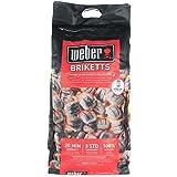 Weber charcoal briquettes,black, 40.5x 35x 17cm, 17591