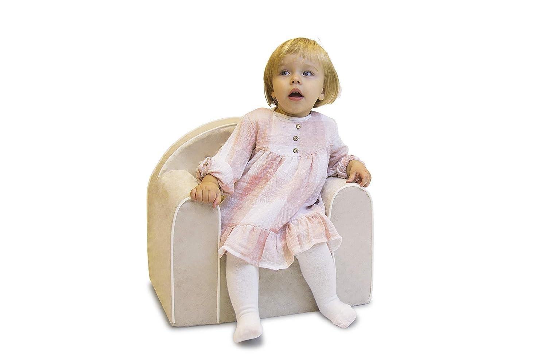 7294d8681 Mini - Sillón infantil niños Baby baby Sillón Sofá Silla Infantil Silla  Espuma respetuoso con el medio ambiente rosa rosa: Amazon.es: Bebé