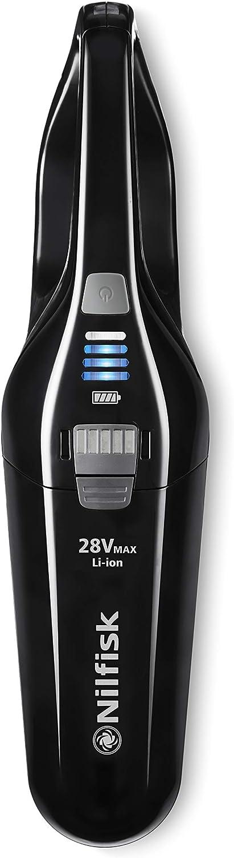 Nilfisk Escoba De Aspiración Easy 28V-Sin Bolsa Y Sin Cable, 6 litros, Plástico, Negro: Amazon.es: Hogar