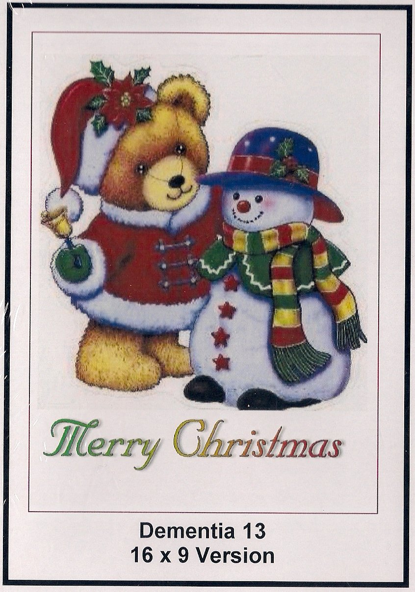 Dementia 13: 16x9 Widescreen TV: Creeting Card: Merry Christmas