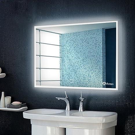 GOGO GO 800*600MM 19W specchio LED con illuminazione Interruttore ...