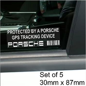 5 x Porsche dispositivo de seguimiento GPS Tracker Alarma de ...