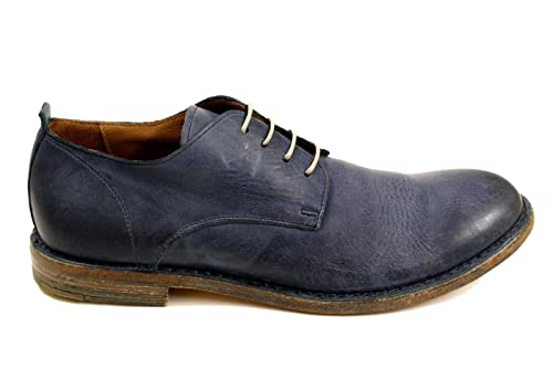 MOMA Men s 14701B Blue Leather Lace-Up Shoes  Amazon.ca  Shoes   Handbags aab3ef6f274