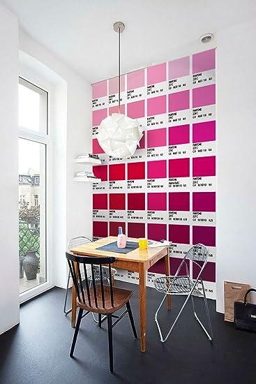 Lieblich Pantone Fliesenaufkleber Rot Modell Wandfarben Ideen (Packung Mit 56)   10  X 10 Cm