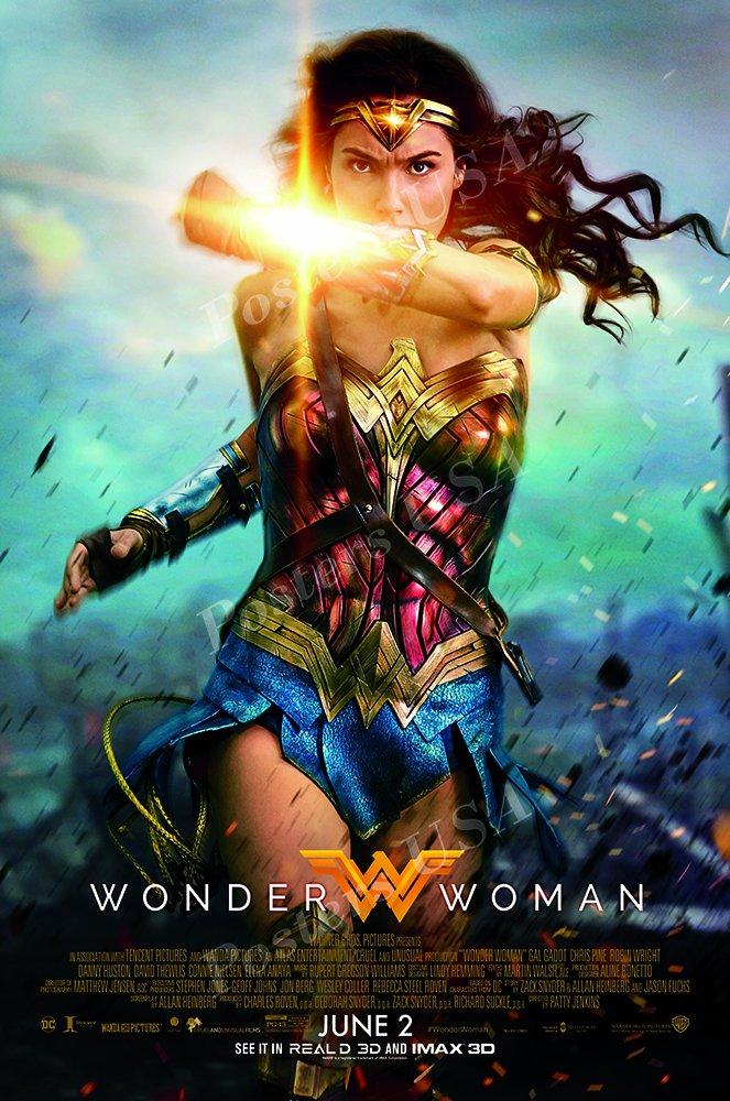 Posters USA - DC Wonder Woman GLOSSY FINISH Movie Poster - FIL515 (24'' x 36'' (61cm x 91.5cm))