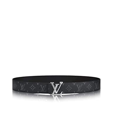 Louis Vuitton Eclipse Canvas LV Initiales 40mm Reversible