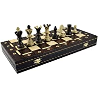 Continental Chess Game, Royal Brown