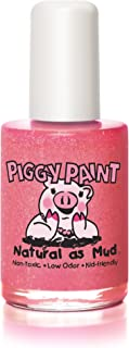 product image for Piggy Paint 100% Non-toxic Girls Nail Polish - Safe, Chemical Free Low Odor for Kids, Shimmy Shimmy POP - Great Stocking Stuffer for Kids