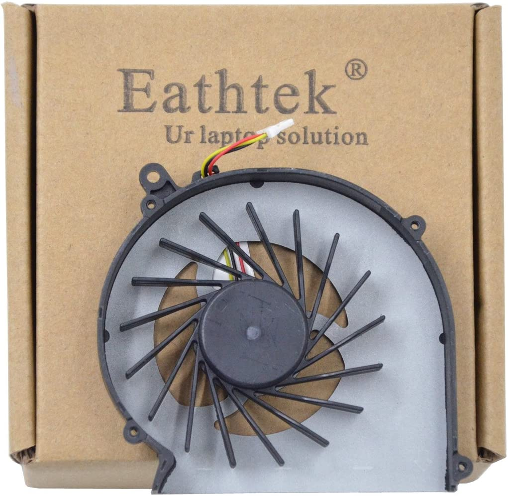 Eathtek Replacement CPU Cooling fan for HP Compaq G57 G43 CQ43 CQ57 430 431 435 436 CQ57-210US CQ57-212NR CQ57-214NR CQ57-217NR CQ57-218NR CQ57-229WM CQ57-310US CQ57-314NR CQ57-315NR CQ57-319WM CQ57-339WM CQ57-386NR CQ57-410US CQ57-439WM CQ57-489CA CQ57-48