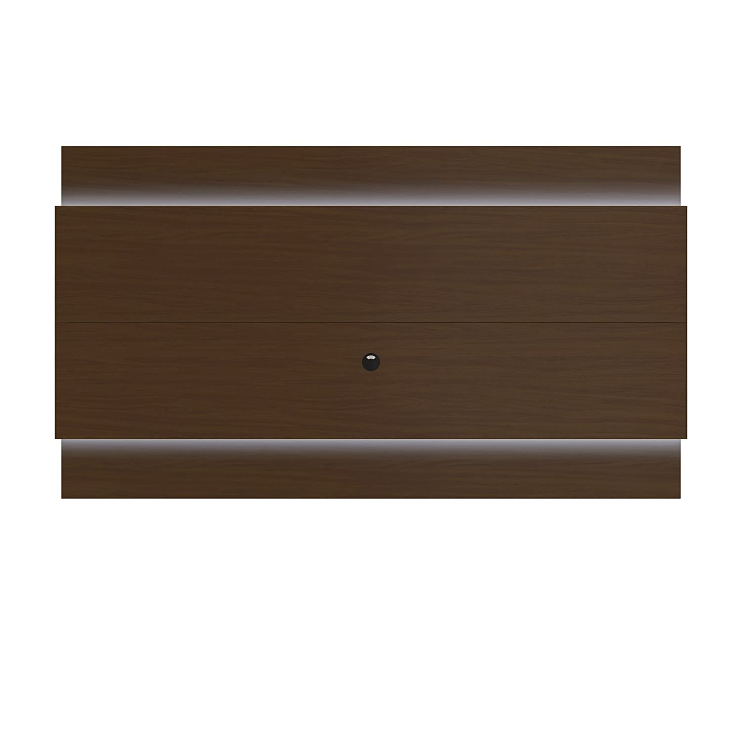 Amazon.com: Manhattan Comfort Lincoln Floating Wall TV Panel 2.4 Collection  Entertainment Center with TV Mount and LED Lights, Nut Brown: Kitchen &  Dining